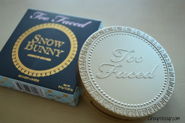 Too Faced Snow bunny choupchoup