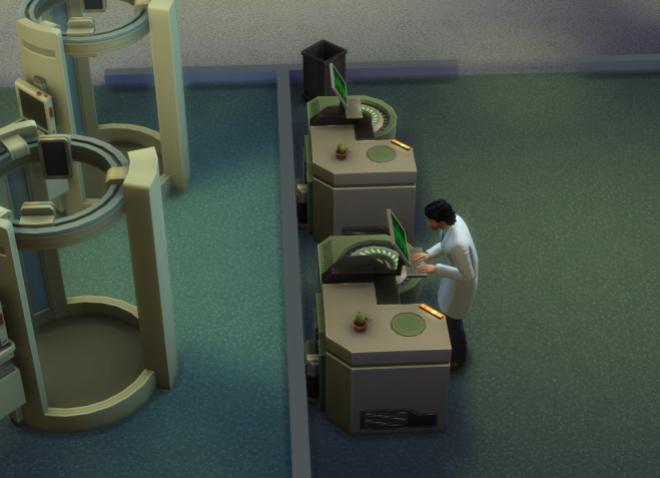De sims 4 aan het werk dokter 2