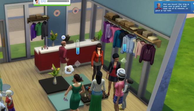 Sims 4 aan het werk 8