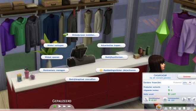 Sims 4 aan het werk 9